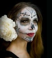 Sugar Skull beautiful Face painting | Wagner Events