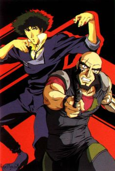 Spike Speigel and Jet Black