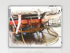 Cow Catcher  Laptop & iPad Skin by F Photography and Digital Art - $25.00