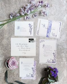 Pretty cool to discover my Storybook wedding invitation suite featured on Brides! Looks like they went with letterpress and a custom violet ink - so pretty! #letterpress #weddinginvitation #brides by jodywody