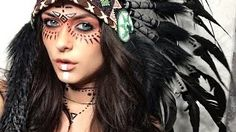 native american make up - Google-haku
