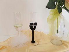 Guarda questo articolo nel mio negozio Etsy https://www.etsy.com/it/listing/476875109/champagne-flute-for-special-occasions