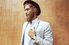 Just look at that wonderful beard... | This Male Model Is Really, Really Ridiculously Good-Looking