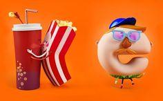 popcorn characters - ค้นหาด้วย Google