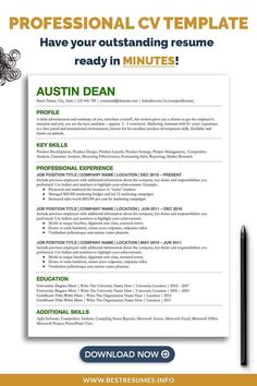 Revamp your outdated CV and get noticed! This professional student CV template offers a clean CV layout and CV format. Open in Google Docs, edit as you like, and apply to jobs. No need to install any programs with this CV example for students. Free matching student CV cover letter and references page are included. You also get a Cv checklist with CV tips and CV help. Cv Template Student, Resume Cover Letter Template, Cover Letter For Resume, Best Cv Layout, Student Cv Examples, Cv Format For Job, Cv Inspiration, Cv Tips, Curriculum Vitae