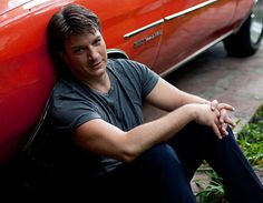 Sunday with...Nathan Fillion: I loved hearing about how he cleans up the signs with biodegradable paint cleaner. Awww! Now I just have to school him about split infinitives . . .
