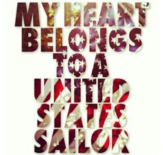My heart belongs to a US sailor