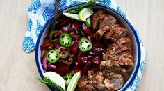 This quick and easy pork tenderloin gets an upgrade thanks to a sweet and spicy fruit relish.