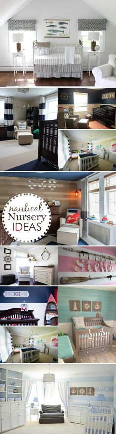 Nautical Nursery Ideas - Project Nursery picked their top 10 favorite nautical-insipred nursery ideas!