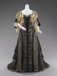 Evening Dress  c.1890-1895  The Metropolitan Museum of Art