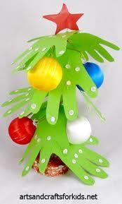 Árbol navidad con manos