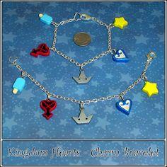 Kingdom Hearts Charm Bracelet by *YellerCrakka on deviantART
