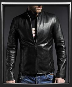 The Evolver is a no frills Men's classic 60's café racer biker jacket. We used our antiqued Italian leather to give this jacket a distressed look without compromising the structure of the leather. Designed by Soul Revolver this is one of our biker inspired leather jackets intended for general wear.