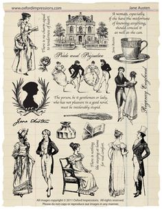 Collection de timbres de caoutchouc de Jane par oxfordimpressions, $24.00