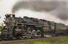 - Monroe News photo by ED KELLER North of Dundee. Steam locomotive No. 765 sliced through Monroe County Wednesday afternoon on the Ann Arbor...
