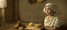 At First I Thought These Were Classic 18th Century Paintings…Then I Took A Closer Look. Wow!   Bill Gekas is an Australian photographer with a love for classic paintings.  But last year Gekas took his love a bit farther and decided to recreate the classics through photography…using his gorgeous 5-year old daughter as the subject.