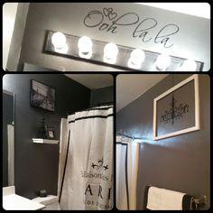 Ideas To Spruce Up My Paris Themed Bathroom Decor Bathroom - Paris themed decor for bathroom