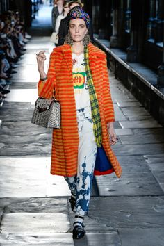Gucci Resort 2017 Fashion Show - Hannelore Knuts