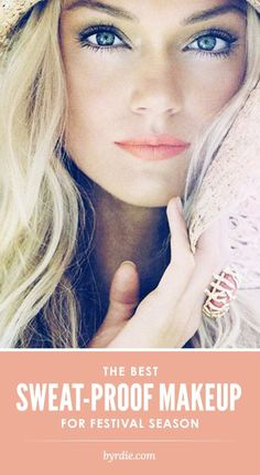 Summer make-up peach lips, gold skin. Beauty Make-up, Beauty Hacks, Hair Beauty, Beauty Tips, Beauty Trends, Best Waterproof Makeup, Waterproof Mascara, Sweat Proof Makeup, Coral Lipstick