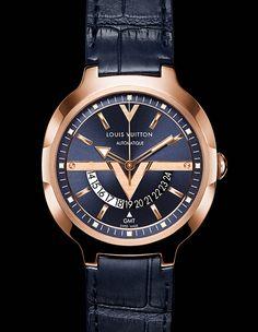 La Cote des Montres : La montre Louis Vuitton GMT - Le tour du monde en 24 heures
