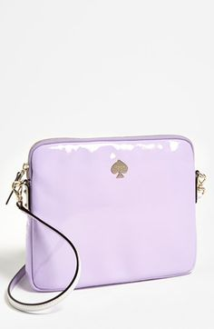 kate spade new york 'bryce - flicker' patent leather iPad crossbody bag available at #Nordstrom