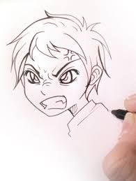 Résultats de recherche d'images pour «comment dessiner un manga»