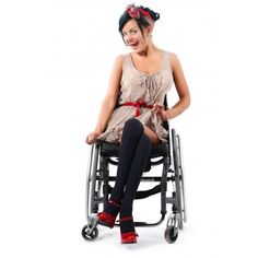 Cute and sassy outfit from UK wheelchair clothing designer, WheelieChix-Chic.