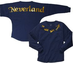 Journey to Neverland with this Peter Pan Inspired Spirit Jersey Disney Outfits, Disneyland Outfits, Disney Clothes, Disney Fashion, Jersey Outfit, Spirit Shirts, Spirit Jersey, Spirit Wear, Silhouette