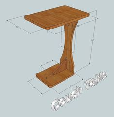 Woodworking Furniture Plans - CHECK THE PIN for Various DIY Wood Projects Plans. 66472844 #diywoodprojects