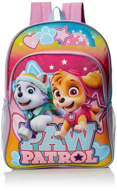 2ad8bfda9d0 Nickelodeon Girls  Paw Patrol Girls 16 Inch Backpack -- Want additional  info  Click