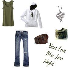 Bare Foot Blue Jean Night.