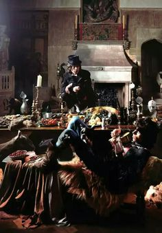The Rolling Stones: Mick Jagger and Keith Richards at the Beggars Banquet photoshoot, June 14, 1968