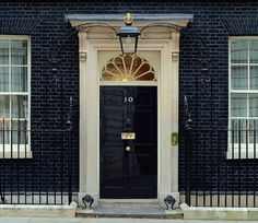 Number 10 Downing Street is the headquarters and London residence of the Prime Minister of the United Kingdom - Fan transom window