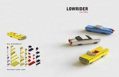 https://flic.kr/p/KcLp1H | Tiny LEGO Wonders - Lowrider | Image courtesy of No Starch Press