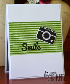 CAS, Smile, Whimsy Stamps and Dies, Kylie Purtell