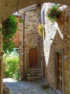 Vicolo di Montefioralle - Greve in Chianti