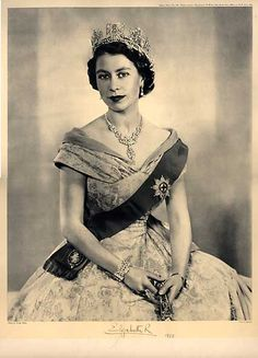 Queen Elizabeth II Current Queen of England