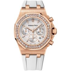 Audemars Piguet Royal Oak Offshore Chronograph 37mm... (2,507,155 INR) ❤ liked on Polyvore featuring jewelry, watches, chronograph watch, chronograph wrist watch, bezel watches, chrono watch and button jewelry
