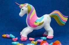 Felt Crafts, Diy And Crafts, Arts And Crafts, Unicorn Birthday, Unicorn Party, Rocking Horse Toy, Kiwiana, Felt Ornaments, Doll Patterns