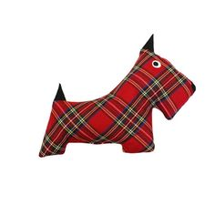 In adorable plaid, our Scottie Dog Toys have classic appeal. This durable dog toy can withstand hours of tug and toss play and is stuffed until perfectly plump with an earth friendly fiber made from recycled plastic bottles. Yer dug will love it! Tartan Christmas, Christmas Toys, Traditional Home Magazine, Durable Dog Toys, Pop Up Shops, Recycle Plastic Bottles, Scottie Dog, Old Toys, Baby Toys