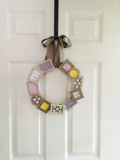 Mini Frame Wreath