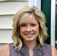 another pinner wrote: I love this girls blog!  As a Hairstylist, I think she does a GREAT job teaching people how to easily style their hair at home, looking like they just left the salon...