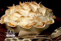 Grandmama's Chocolate Meringue Pie | Stacy Lyn Harris