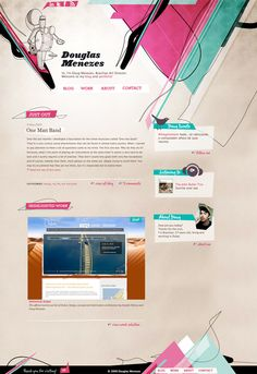 Douglas Menezes- website design