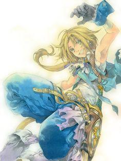 Incredible Final Fantasy 9 fan art by Issu n bōshi (hat an inch).