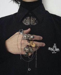 Dark Fashion, Mens Fashion, Grunge Style, Character Outfits, Aesthetic Clothes, Gothic, Cool Outfits, Fancy, Style Inspiration