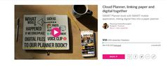 Attached & linked the digital files into a paper can be surprisingly difficult, the Cloud Planner is SMART planner book for SMART people who appetite for success and It is designed to help you organize both of things stay together. https://www.indiegogo.com/projects/cloud-planner-linking-paper-and-digital-together/x/13741511#/