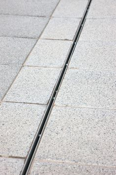 Choose Marshalls linear drainage systems for your next commercial paving contract - Contact us to discuss your specification Architecture Details, Landscape Architecture, Landscape Design, Garden Design, Gutter Drainage, Yard Drainage, Landscape Drainage, Drainage Channel, Trench Drain