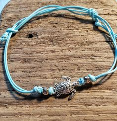 Charm Jewelry, Jewelry Gifts, Fine Jewelry, Handmade Jewelry, Jewelry Making, Cute Anklets, Silver Cleaner, Cord Bracelets, Turquoise Bracelet