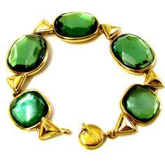 YVES ST LAURENT  magnifique  bracelet vintage  par PauletteVintage
